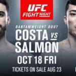 Видео боя Рэнди Коста — Бостон Сэлмон UFC on ESPN 6