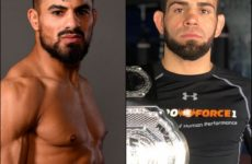 Видео боя Халид Таха – Бруно Силва UFC 243