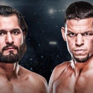 Видео боя Хорхе Масвидаль — Нейт Диас UFC 244