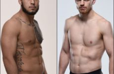 Видео боя Эдмен Шахбазян — Брэд Таварес UFC 244