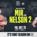 Результаты взвешивания участников турнира Bellator 231: Фрэнк Мир - Рой Нельсон 2