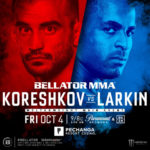 Прямая трансляция Bellator 229: Андрей Корешков – Лоренц Ларкин