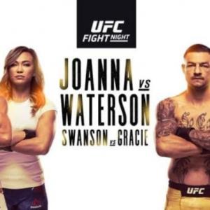 Прямая трансляция UFC Fight Night 161: Йоанна Енджейчик — Мишель Уотерсон