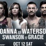 Прямой эфир UFC 243: Йоанна Енджейчик — Мишель Уотерсон. Смотреть онлайн