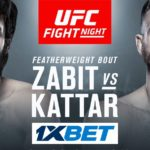 Видео боя Забит Магомедшарипов — Келвин Каттар UFC Fight Night 163
