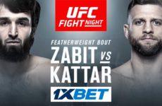 Видео боя Забит Магомедшарипов — Келвин Каттар UFC Fight Night 163