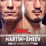 Видео боя Рамазан Эмеев — Энтони Рокко Мартин UFC Fight Night 163