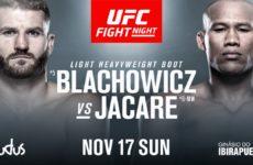 Видео боя Ян Блахович — Роналдо Соуза UFC Fight Night 164