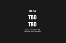 UFC 246 перенесён на новую дату