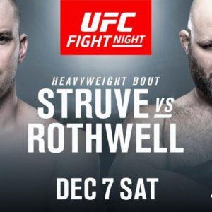 Видео боя Бен Ротвелл — Стефан Штруве UFC on ESPN 7