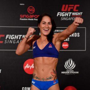 Видео боя Вивьен Арауджо — Джессика Ай UFC 245