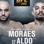 Видео боя Жозе Альдо — Марлон Мораес UFC 245