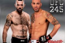 Видео боя Мэтт Браун — Бен Сондерс UFC 245