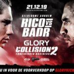 Видео боя Рико Верховен – Бадр Хари Glory Collision 2