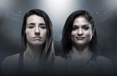 Видео боя Синтия Калвильо — Марина Родригес UFC on ESPN 7