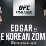 О бое Фрэнки Эдгара и Корейского Зомби объявлено официально