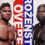 Прямой эфир UFC on ESPN 7: Алистар Оверим — Жаирзиньо Розенштруйк. Смотреть онлайн
