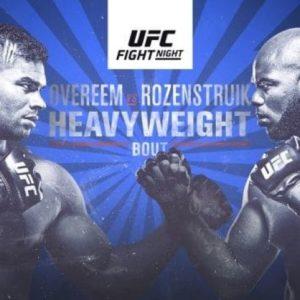 Результаты турнира UFC on ESPN 7