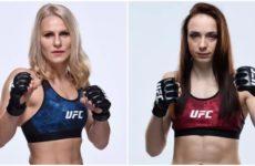 Видео боя Джастин Киш — Люси Пудилова UFC Fight Night 166