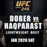 Видео боя Дрю Добер – Насрат Хакпараст UFC 246