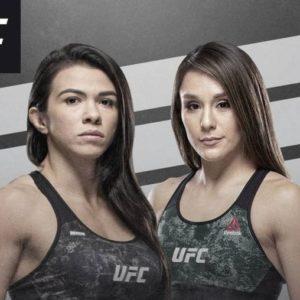 Видео боя Клаудиа Гадэлья – Алекса Грассо UFC 246