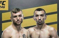 Видео боя Тим Эллиотт – Аскар Аскаров UFC 246