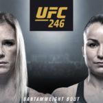 Видео боя Холли Холм — Ракель Пеннингтон UFC 246
