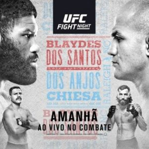 Файткард турнира UFC Fight Night 166