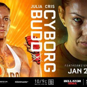 Прямая трансляция Bellator 238: Джулия Бадд — Крис Сайборг