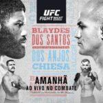 Прямая трансляция UFC Fight Night 166: Кертис Блэйдс - Джуниор Дос Сантос