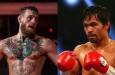 Конор МакГрегор хочет бой с Мэнни Пакьяо по правилам бокса