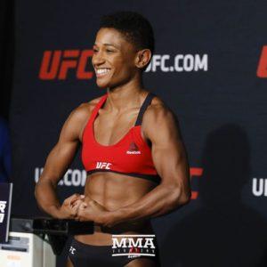 Видео боя Анджела Хилл — Лома Локбунми UFC Fight Night 168