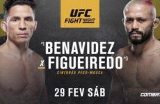 Видео боя Джозеф Бенавидес — Дейвисон Фигейреду UFC Fight Night 169