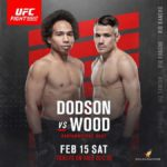 Видео боя Джон Додсон — Натаниэль Вуд UFC Fight Night 167