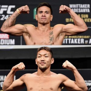 Видео боя Маки Питоло — Такаши Сато UFC Fight Night 168
