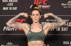 Видео боя Меган Андерсон — Норма Дюмонт UFC Fight Night 169