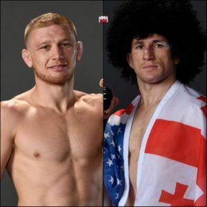 Видео боя Мераб Двалишвили — Кэйси Кенни UFC Fight Night 167