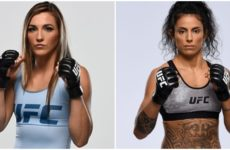 Видео боя Монтана Де Ла Роса — Мара Ромеро Борелла UFC Fight Night 167