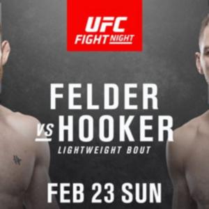 Видео боя Пол Фелдер — Дэн Хукер UFC Fight Night 168
