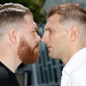 Прямая трансляция UFC Fight Night 168: Пол Фелдер — Дэн Хукер
