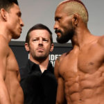 Прямая трансляция UFC Fight Night 169: Джозеф Бенавидес - Дейвисон Фигейреду
