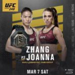 Видео боя Вейли Жанг — Йоанна Енджейчик UFC 248