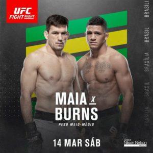 Видео боя Гилберт Бернс — Демиан Майя UFC Fight Night 170