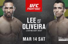 Видео боя Кевин Ли — Чарльз Оливейра UFC Fight Night 170