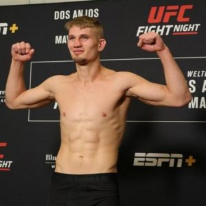 Видео боя Остин Хаббард — Марк Мадсен UFC 248