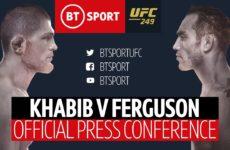 Прямой эфир пресс-конференции UFC 249: Хабиб Нурмагомедов – Тони Фергюсон. Смотреть онлайн