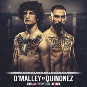 Видео боя Шон О`Мэлли — Хосе Куинонес UFC 248