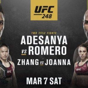 Прямой эфир UFC 248: Исраэль Адесанья — Йоэль Ромеро. Смотреть онлайн