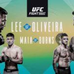 Прямая трансляция UFC Fight Night 170: Кевин Ли - Чарльз Оливейра