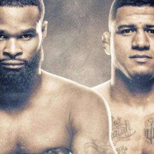 Прямой эфир UFC on ESPN 9: Тайрон Вудли — Гилберт Бернс. Смотреть онлайн